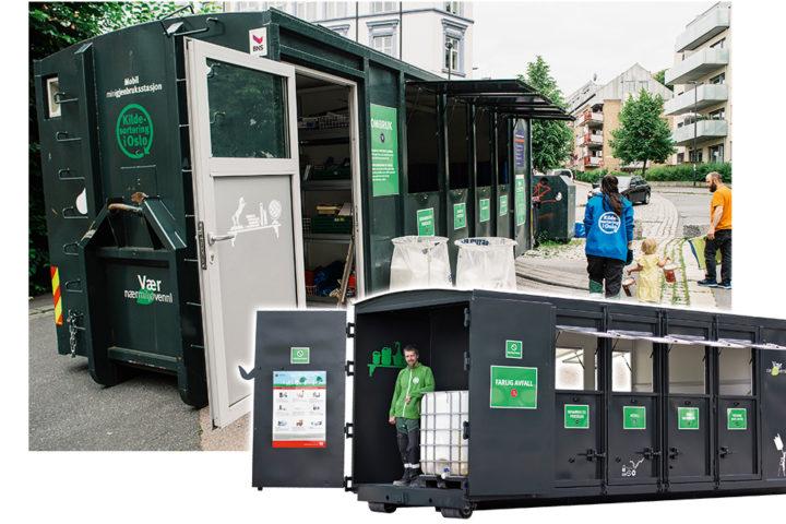 Mobil gjenbruksstasjon fra EuroTeknikk