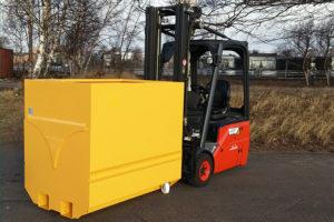 Containere Binge for gaffeltruck / tippcontainere