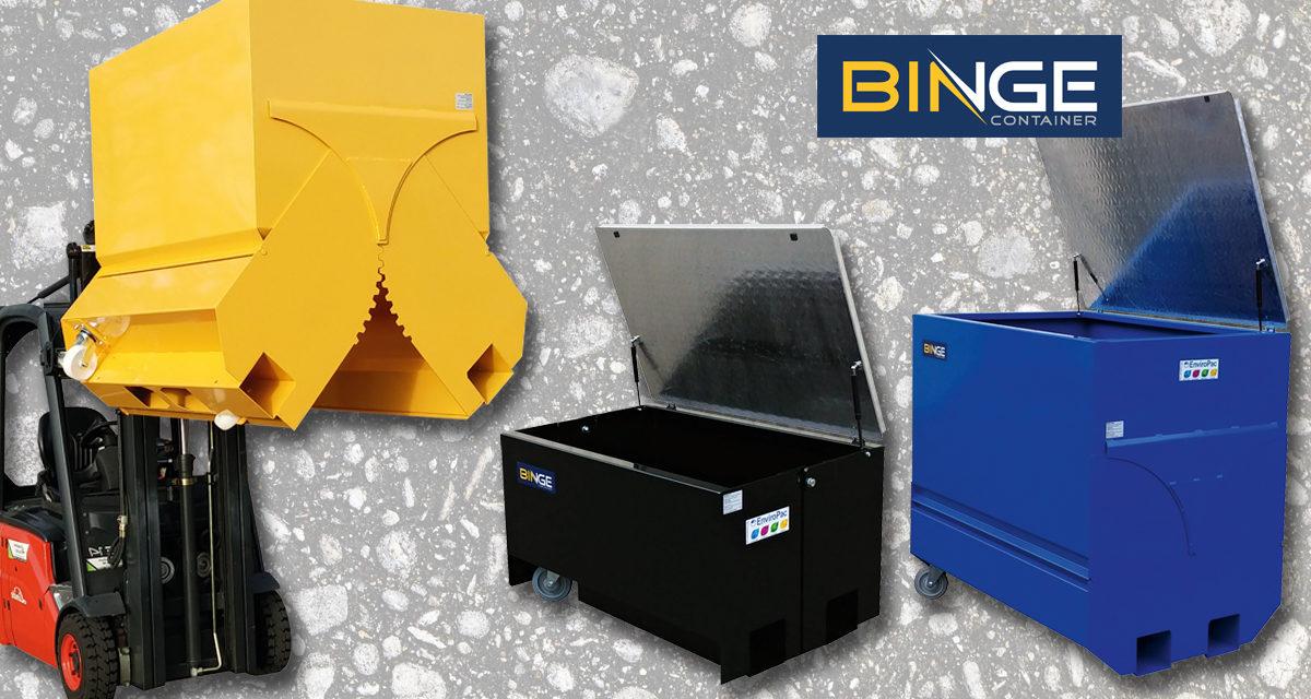 Effektiv og trygg avfallshåndtering med Binge containere