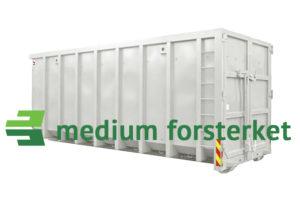 Åpen krokcontainer medium forsterket