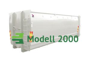 Åpen krokcontainer modell 2000