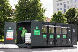 BNS mobile gjenbruksstasjoner