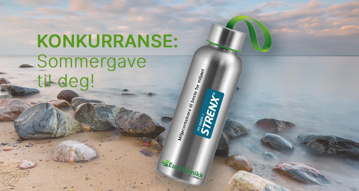Konkurranse på vår stand for deg som deltar på Årskonferansen til Avfall Norge!
